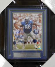 Cortez Kennedy Autographed Framed 8x10 Photo Seattle Seahawks MCS Holo Stock #123668