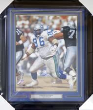 Cortez Kennedy Autographed Framed 16x20 Photo Seattle Seahawks MCS Holo Stock #123740