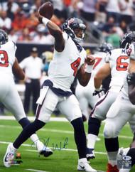 Deshaun Watson Autographed 16x20 Photo Houston Texans Beckett BAS Stock #125345