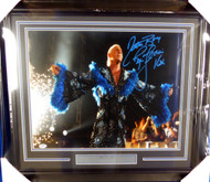 "Ric Flair Autographed Framed 16x20 Photo WWE ""Nature Boy & 16X"" PSA/DNA Stock #126643"