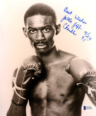 "Joltin Jeff Chandler Autographed 8x10 Photo ""Best Wishes"" Beckett BAS #D12861"