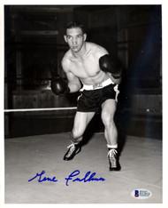 Gene Fullmer Autographed 8x10 Photo Beckett BAS #D12810
