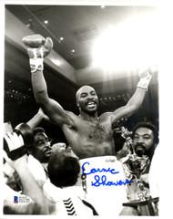 Earnie Shaver Autographed 8x10 Photo Beckett BAS #D12795