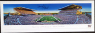 "Warren Moon Autographed 13x40 Panoramic Photo Washington Huskies ""78 Rose Bowl MVP"" MCS Holo Stock #128017"