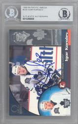 Igor Korolev Autographed 1998-99 Pacific Omega Card #229 Toronto Maple Leafs Beckett BAS #10266608