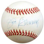 Jim Bunning Autographed Official NL Baseball Philadelphia Phillies Beckett BAS #D20371