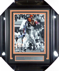 A.J. AJ Green Autographed Framed 8x10 Photo Cincinnati Bengals Beckett BAS Stock #130218