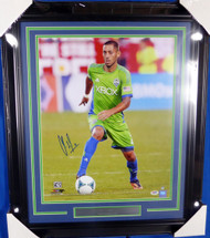 Clint Dempsey Autographed Framed 16x20 Photo Seattle Sounders PSA/DNA ITP Stock #130282