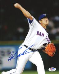Akinori Otsuka Autographed 8x10 Photo Texas Rangers PSA/DNA #Q94533