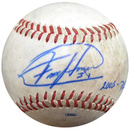 Felix Hernandez Autographed Official 2005 PCL Game Used Baseball Seattle Mariners PSA/DNA ITP #4A52829