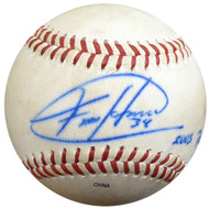 Felix Hernandez Autographed Official 2005 PCL Game Used Baseball Seattle Mariners PSA/DNA ITP #4A52826