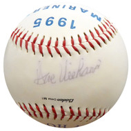 Dave Niehaus Autographed My Oh My Logo Baseball Seattle Mariners Beckett BAS #E95432