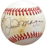 Joe DiMaggio, Vince & Dom DiMaggio Autographed Official NL Baseball DiMaggio Brothers Beckett BAS #A77203
