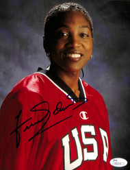Teresa Edwards Autographed 8x10 Photo Team USA JSA #M20114