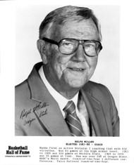 Ralph Miller Autographed 8x10 Photo Oregon State Beavers PSA/DNA #AA92859