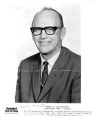 Arad McCutchan Autographed 8x10 Photo Hall Of Fame PSA/DNA #AA92861