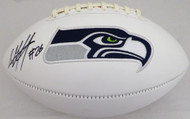 Shaquill Griffin Autographed Seattle Seahawks White Logo Football MCS Holo Stock #134391