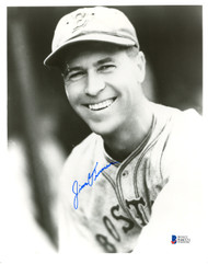 Jim Turner Autographed 8x10 Photo Boston Braves Beckett BAS #E46321