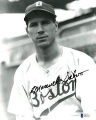 Manuel Salvo Autographed 8x10 Photo Boston Braves Beckett BAS #E46313
