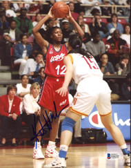 Katrina McClain Autographed 8x10 Photo Team USA Beckett BAS #E46285