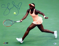 Sloane Stephens Autographed 16x20 Photo Beckett BAS Stock #135381