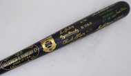 Carl Yastrzemski & Frank Robinson Autographed Louisville Slugger Bat Triple Crown Winners Beckett BAS #F22197