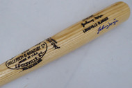 Johnny Mize Autographed Louisville Slugger Bat Cardinals, Yankees Beckett BAS #F22192
