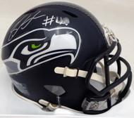 Shaquem Griffin Autographed Seattle Seahawks Mini Helmet (Smudged) MCS Holo #76405