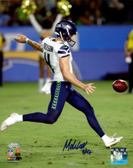 Michael Dickson Autographed 8x10 Photo Seattle Seahawks MCS Holo Stock #138027