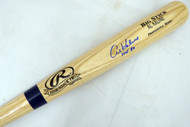 "Al Kaline Autographed Blonde Rawlings Bat Detroit Tigers ""HOF 80"" PSA/DNA Stock #139811"
