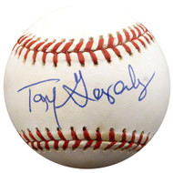Tony Gonzalez Autographed Official AL Baseball Philadelphia Phillies, Atlanta Braves Beckett BAS #F26905
