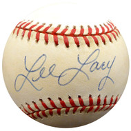 Lee Lacy Autographed Official NL Baseball Los Angeles Dodgers, Pittsburgh Pirates Beckett BAS #F29480