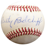 """Double Duty"" Radcliffe Autographed Official AL Baseball Negro Leagues Beckett BAS #F27587"