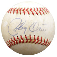 Johnny Oates Autographed Official AL Baseball Los Angeles Dodgers, Baltimore Orioles Beckett BAS #F29536