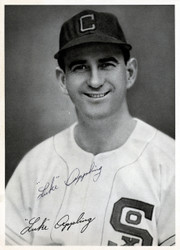 Luke Appling Autographed 6.5x9 Photo Picture Pack 1948 Chicago White Sox Beckett BAS #F98268