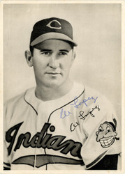 Al Lopez Autographed 6.5x9 Photo Picture Pack Cleveland Indians Beckett BAS #F98293