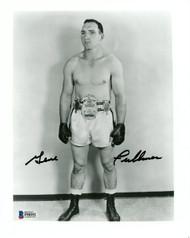 Gene Fullmer Autographed 8x10 Photo Beckett BAS #F98392