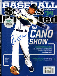 Robinson Cano Autographed Sports Illustrated Magazine Seattle Mariners MCS Holo #22143