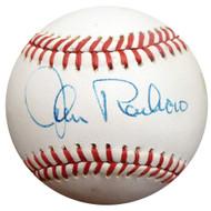 John Roseboro Autographed Official NL Baseball Los Angeles Dodgers Beckett BAS #E48461