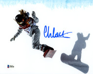 Chloe Kim Autographed 8x10 Photo Team USA Women's Snowboarding 2018 Winter Olympics Beckett BAS Stock #144535