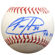 "Felix Hernandez Autographed Official MLB Baseball Seattle Mariners ""PG 8-15-12"" PSA/DNA ITP #4A52913"