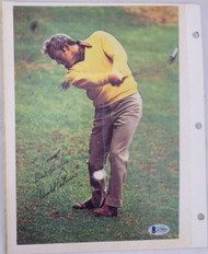"Arnold Palmer Autographed Magazine Page Photo ""To Ross Best Wishes"" Beckett BAS #A79850"