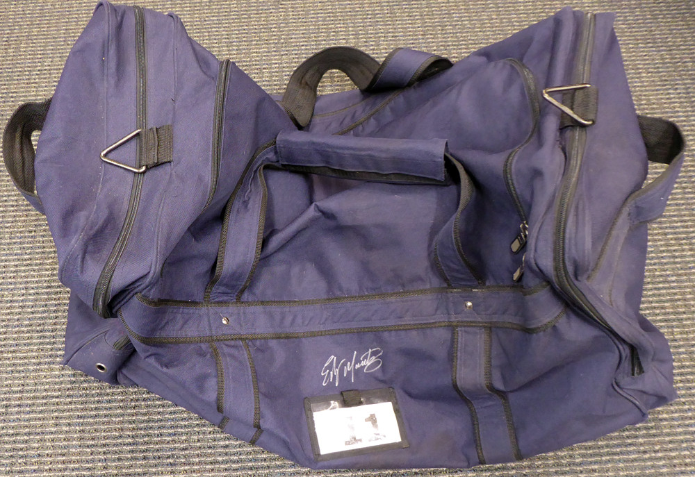 51a5af4679646c Edgar Martinez Autographed Seattle Mariners Used Bat Travel Bag with Signed  Certificate SKU  145140.  499.00. Image 1