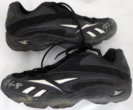 Edgar Martinez Autographed Seattle Mariners Game Used Reebok Turf Shoes with Signed Certificate SKU #145144