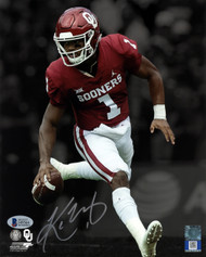 Kyler Murray Autographed 8x10 Photo Oklahoma Sooners Beckett BAS Stock #145743