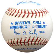 Unsigned Official American League Gene A. Budig Baseball SKU #145767