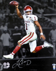 Kyler Murray Autographed 16x20 Photo Oklahoma Sooners Beckett BAS Stock #145897