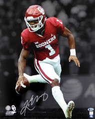 Kyler Murray Autographed 16x20 Photo Oklahoma Sooners Beckett BAS Stock #145898