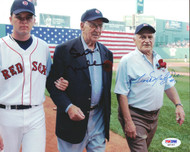 Sam Mele & Frank Malzone Autographed 8x10 Photo Boston Red Sox PSA/DNA #Q97357