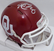 Kyler Murray Autographed Oklahoma Sooners Speed Mini Helmet Beckett BAS #J49298